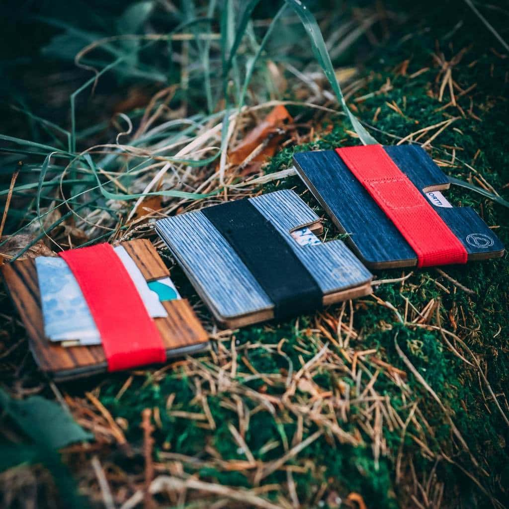 Wallets from the nature