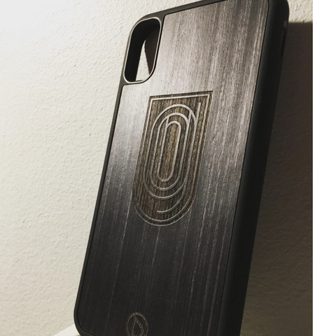 Custom logo phone case by Lastu