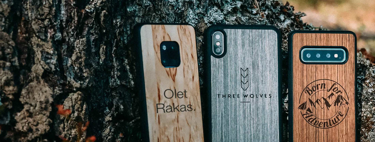 Wooden Case with your logo