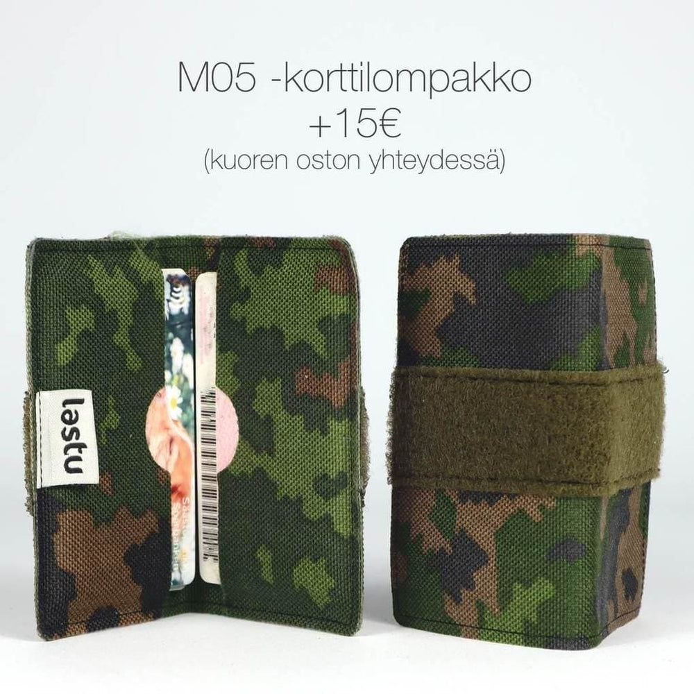 Load image into Gallery viewer, M05 - Forest Camo with Text Label
