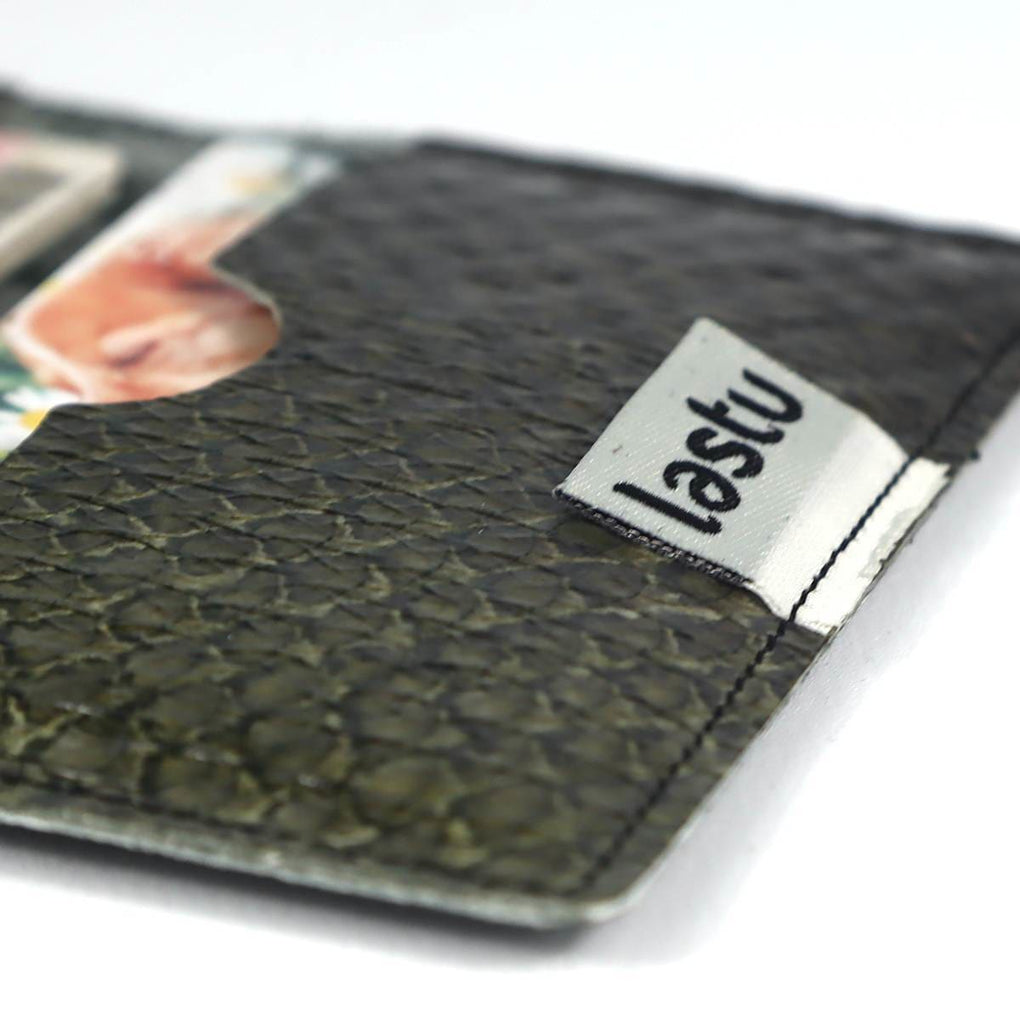 Salmon Skin Card Holder