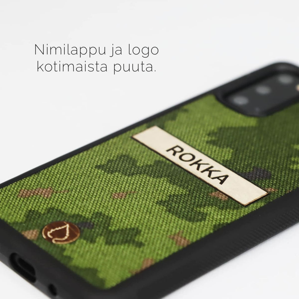 M05 - Forest Camo with Text Label