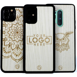 Case with Custom Logo