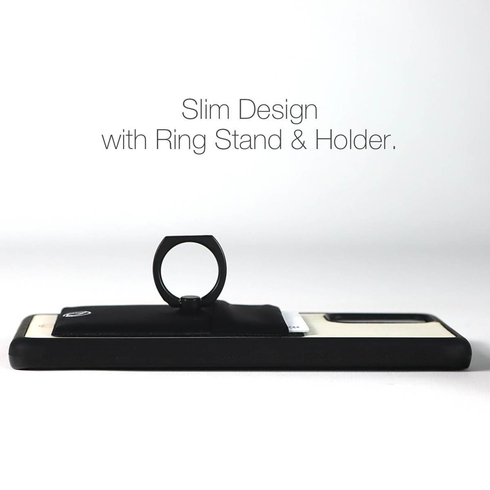 Card Holder Phone Case with Ring Holder