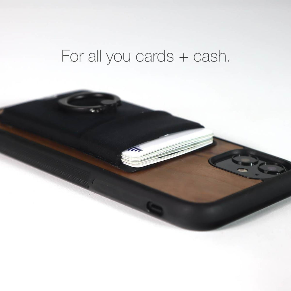 Load image into Gallery viewer, Card Holder case with cash pocket