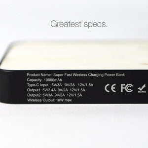 Langaton lataus Power Bank