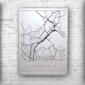 Load image into Gallery viewer, Jyväskylä Streets - Lastu
