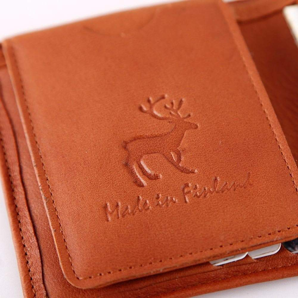 Reindeer Leather Wallet - Lastu