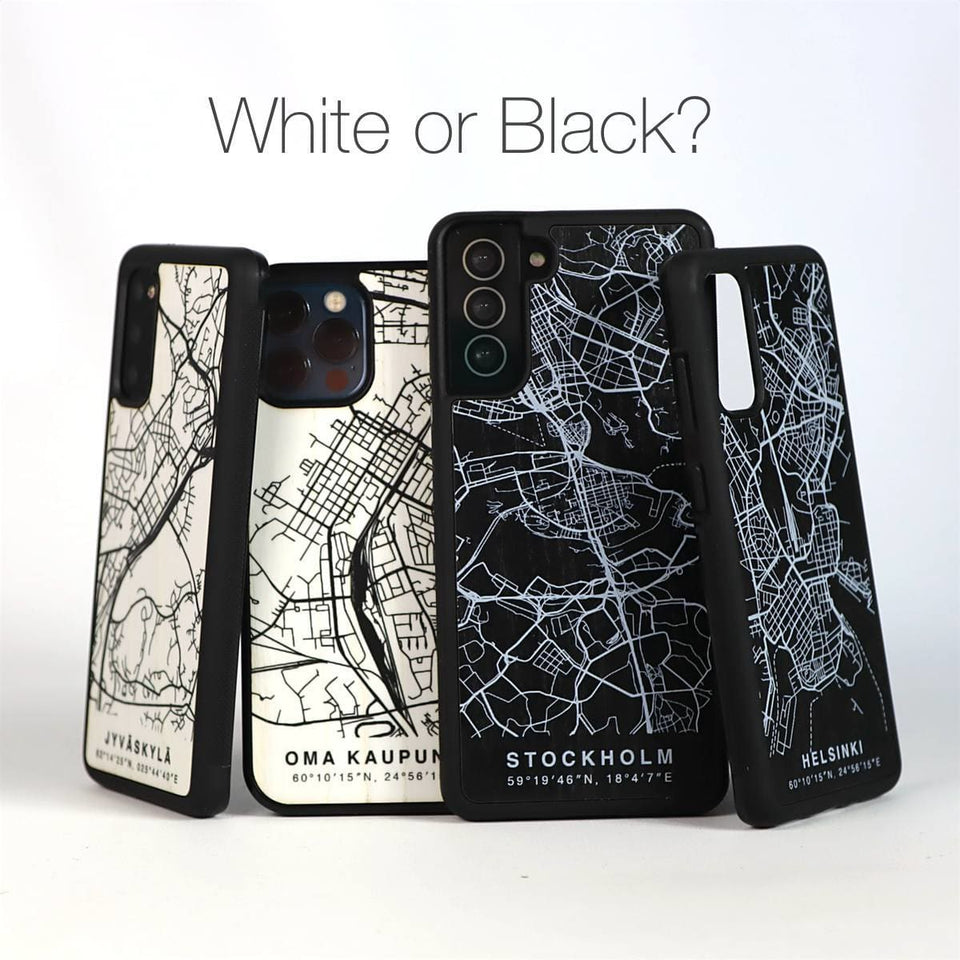 City Map Case - Snow