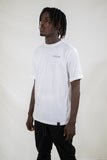 Bentleigh Rolled Up T-Shirt / White