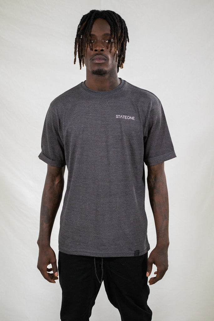 Bentleigh Rolled Up T-Shirt / Grey