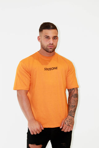Peak Oversized T-Shirt- Orange