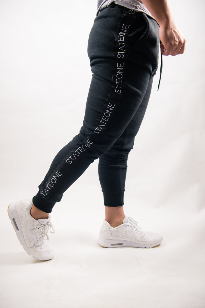 Brooklyn Tapered Trackies / Black