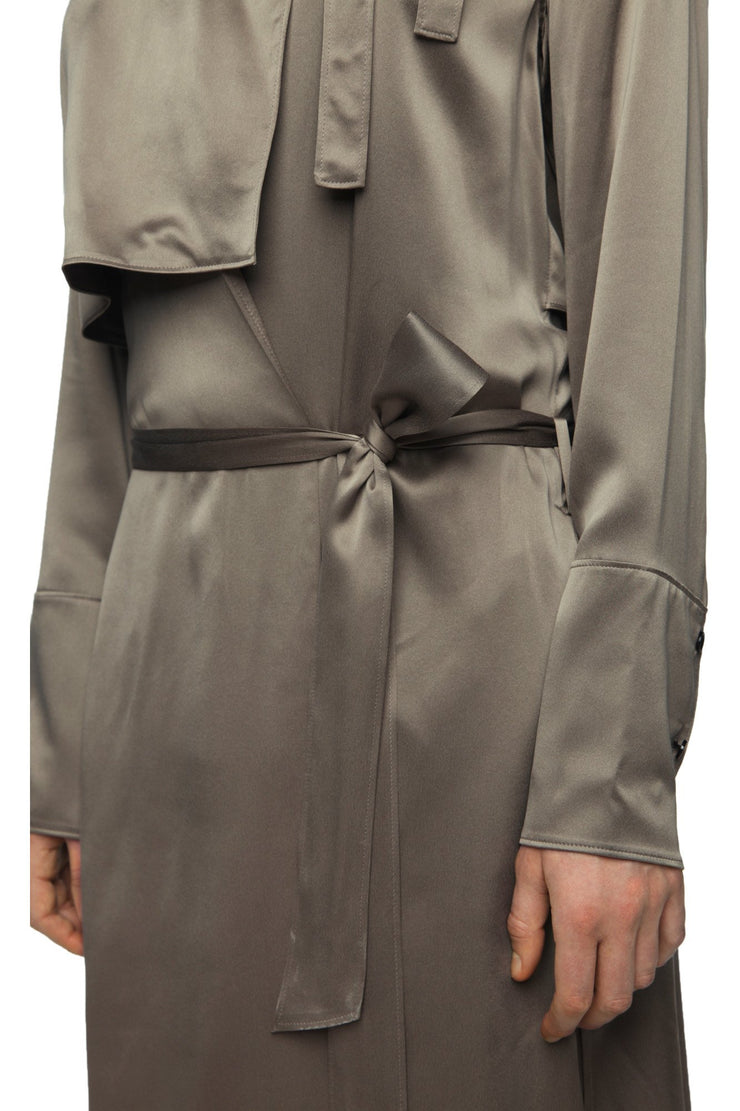 Womens Coat 50 Taupe