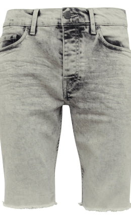 Mens Jean Shorts 31 Clinton Grey
