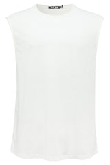 Mens T-Shirt 57 Ash White