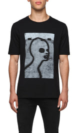 Mens T-Shirt 123 Black