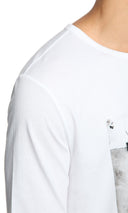 Mens T-Shirt 123 White