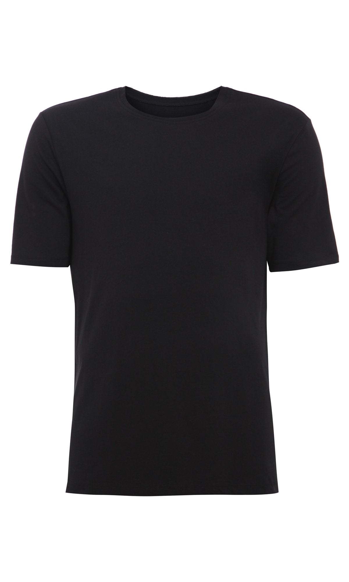 Mens Printed T Shirt 125 Black