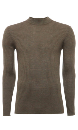 Mens Sweater 84 Dusk Green