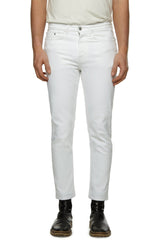 Mens Jeans 30 Johnson White