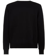 MENS CREW NECK SWEATSHIRT BLACK