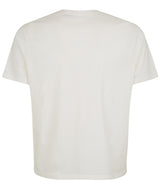 MENS CROPPED FIT TEE IVORY