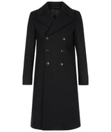 MENS DB COAT BLACK
