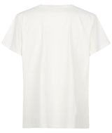 MENS EASY FIT PRINTED TEE IVORY