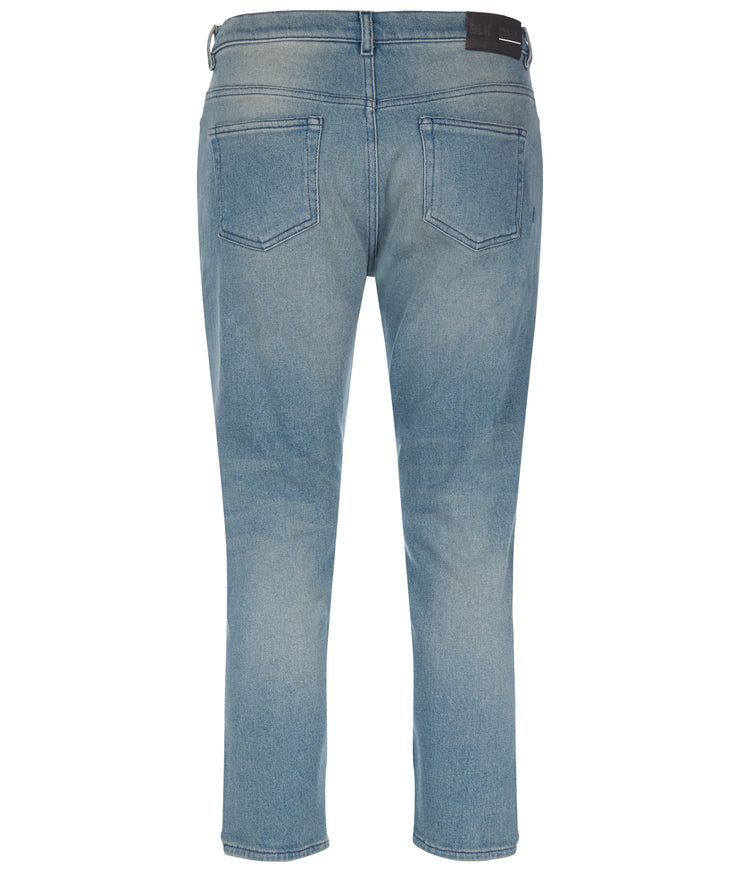 MENS JEANS 43 CROPPED JEAN ADDISON BLUE