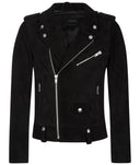 Mens Leather Jacket 146 Black
