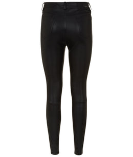 WOMENS LEATHER TROUSERS BLACK