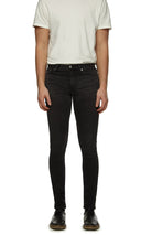 Mens Jeans 25 Fulton Black
