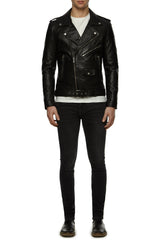 Mens Leather Jacket 5 Black