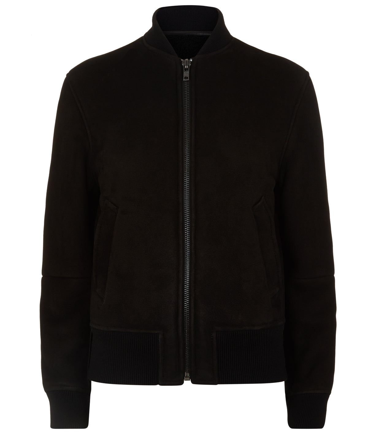 WOMENS SHEALING BOMBER BLACK