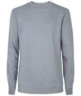 Mens Sweatshirt 86 Grey Melange