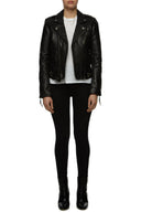 Womens Leather Jacket 1 Black