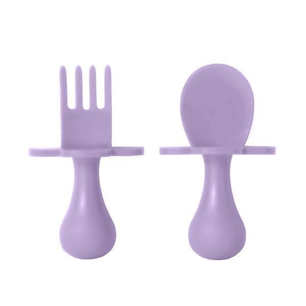 Lavender Fork & Spoon Cutlery Set for Babies & Toddlers