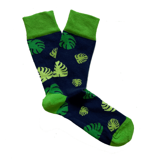 Monstera Sock - Kind Socks