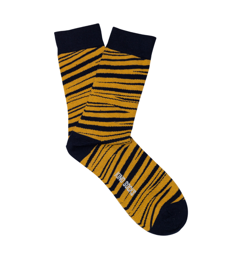 Tiger Sock - Kind Socks, Socks - Socks, [product_material] - Organic Cotton