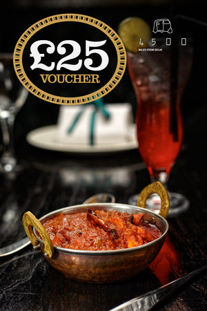 4500 Gift Vouchers - Oxford £25 for £18.75