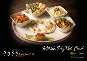 Mother's Day Thali Lunch