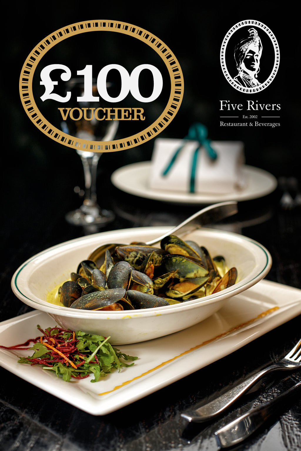 Five Rivers Gift Vouchers £75 for £100
