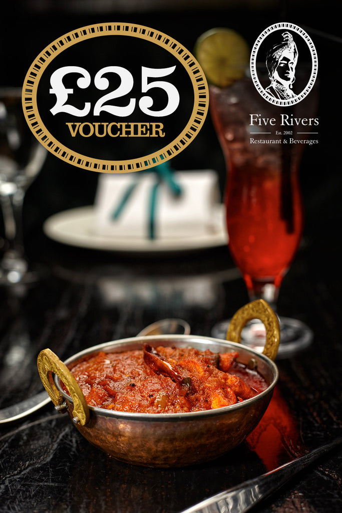 Five Rivers Gift Vouchers £18.50 for £25
