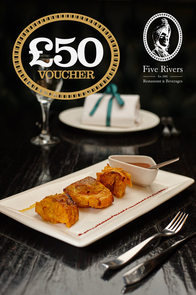 Five Rivers Gift Vouchers £37.50 for £50