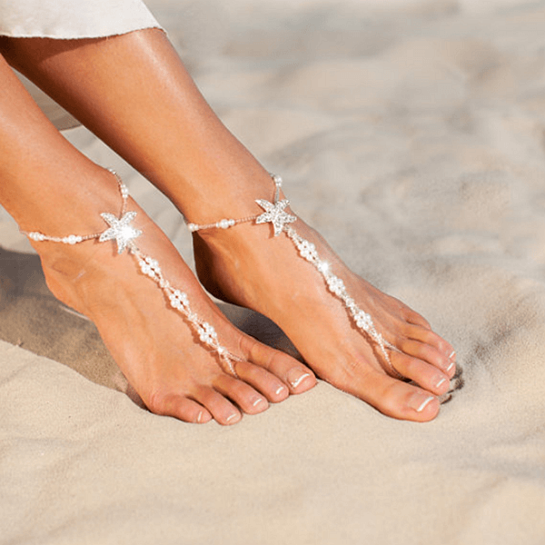 Strassy Sea Stars Ankle Chain