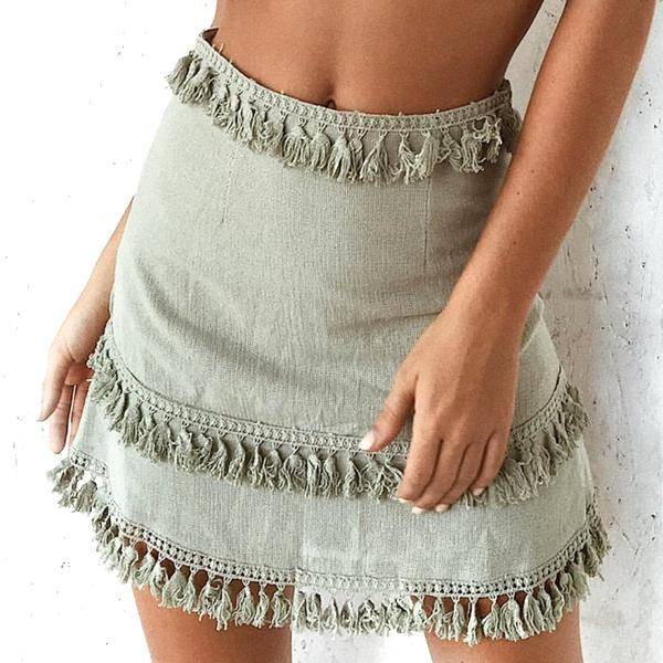 Layered Boho Skirt Grace