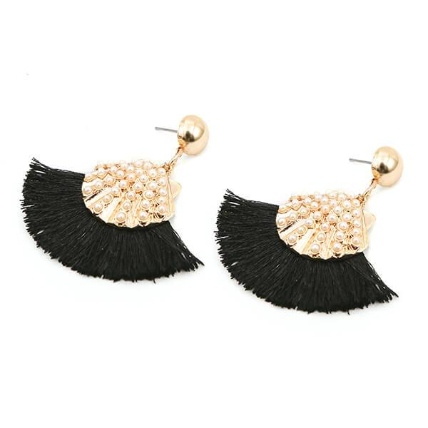 Fancy Frill Earrings