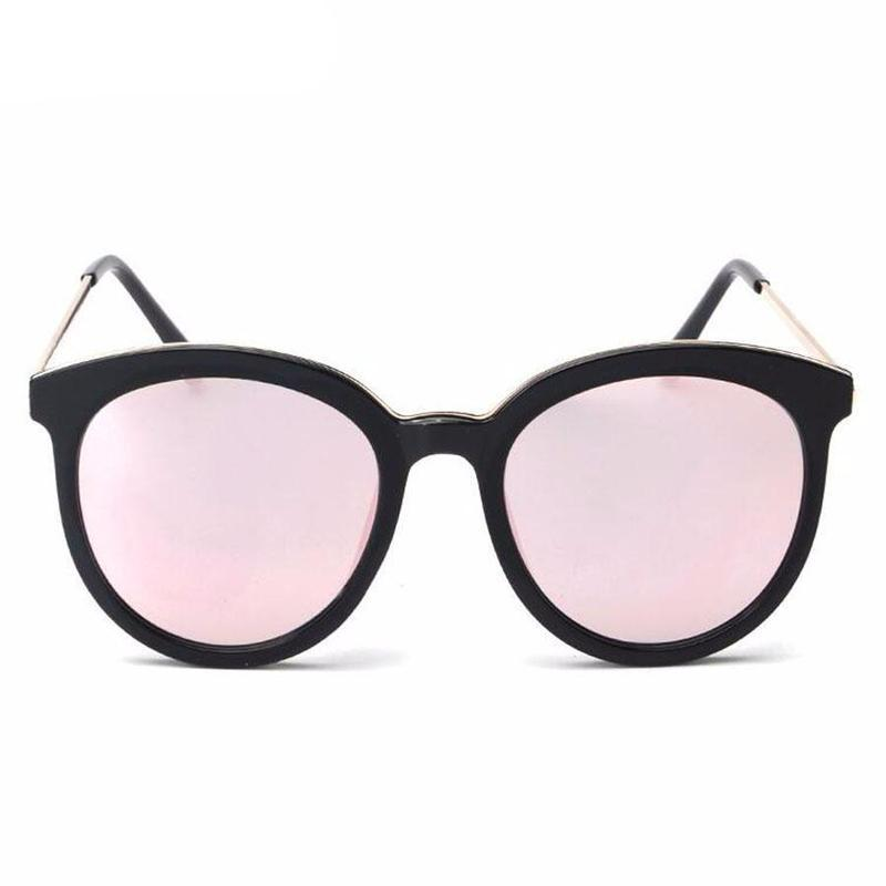 Full Frame Cat Eye Mirror Sunglasses Melissa