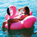 Comfortable Flamingo Pool Float
